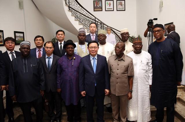 Phó Thủ tướng Vương Đình Huệ: Việt Nam mong muốn giao lưu văn hoá, thể thao với Nigeria  - Ảnh 4.