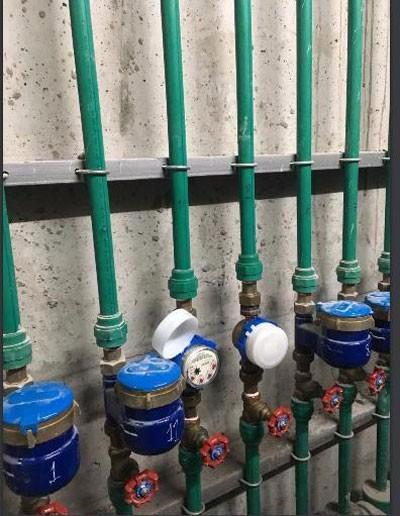 Nghi vấn chủ đầu tư chung cư New Horizon City lắp đồng hồ đo nước giả - Ảnh 2.