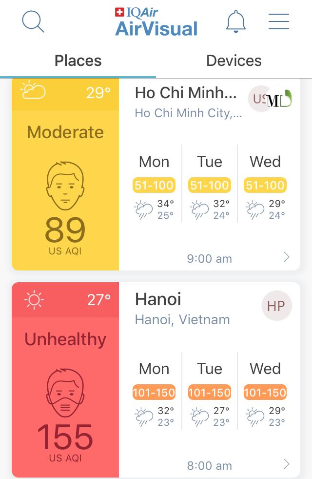 AirVisual nói về thông tin Hà Nội là thành phố ô nhiễm nhất thế giới - Ảnh 1.