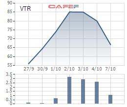 Cổ phiếu Vietravel: Tăng thật sốc, giảm thật sâu - Ảnh 1.