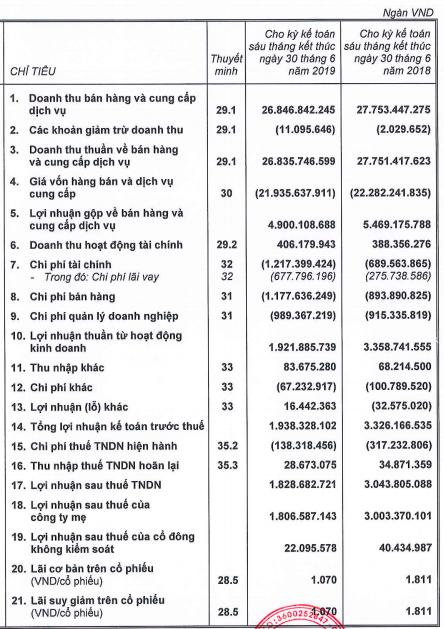 THACO đạt 1.800 tỷ đồng lãi ròng trong nửa năm, giảm 40% so với cùng kỳ - Ảnh 2.