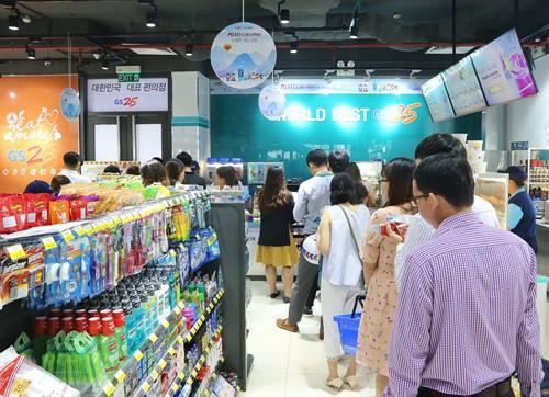 Chuỗi cửa hàng tiện lợi GS25 Hàn Quốc triển khai nhượng quyền, tham vọng mở hàng nghìn cửa hàng tại Việt Nam - ảnh 1