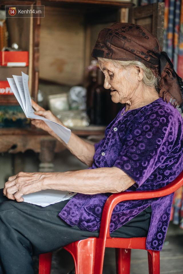 Cuộc sống lạc quan, tự tại của cụ bà đạp xe lên ủy ban xã xin ra khỏi hộ nghèo: 11 đứa con mà tui chưa phải phiền đến đứa mô - Ảnh 18.