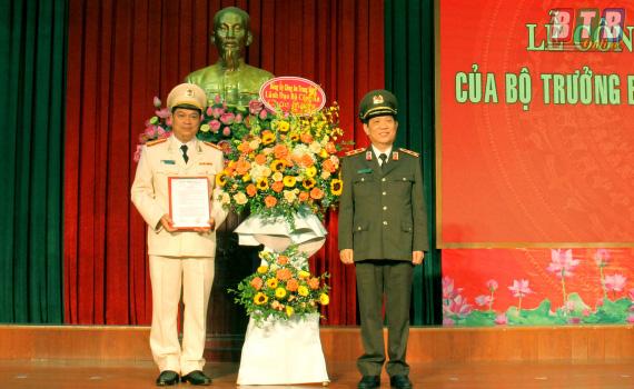 Công bố quyết định bổ nhiệm lãnh đạo Công an 4 tỉnh - Ảnh 3.