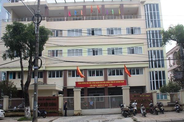 Phó phòng Ủy ban kiểm tra Tỉnh ủy Quảng Nam tử vong tại trụ sở - Ảnh 1.