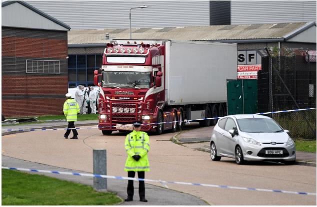 Dữ liệu GPS tiết lộ bất ngờ về hành trình container chở 39 người chết ở Anh - Ảnh 1.