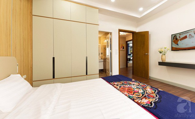 Căn hộ 100m² với 3 phòng ngủ ấm áp sau khi được cải tạo lại với tổng chi phí 380 triệu đồng - Ảnh 11.