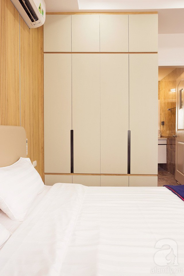 Căn hộ 100m² với 3 phòng ngủ ấm áp sau khi được cải tạo lại với tổng chi phí 380 triệu đồng - Ảnh 13.