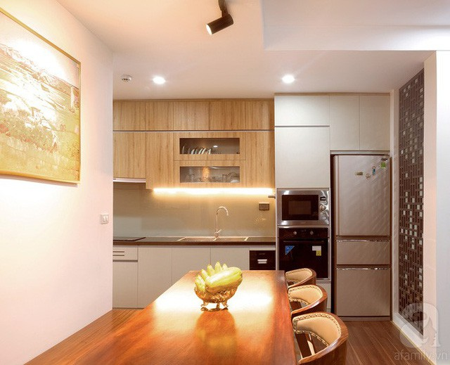Căn hộ 100m² với 3 phòng ngủ ấm áp sau khi được cải tạo lại với tổng chi phí 380 triệu đồng - Ảnh 5.