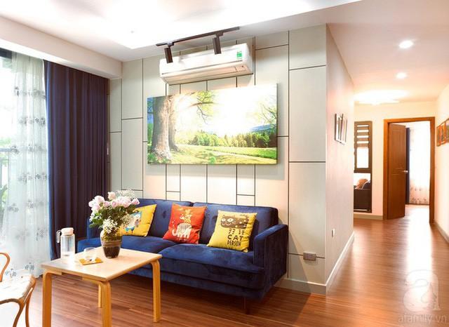 Căn hộ 100m² với 3 phòng ngủ ấm áp sau khi được cải tạo lại với tổng chi phí 380 triệu đồng - Ảnh 9.