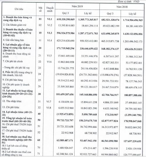 Tiết giảm chi phí tài chính, DIC Corp (DIG) báo lãi quý 3 tăng 37% so với cùng kỳ - Ảnh 2.