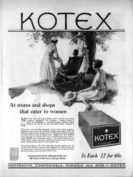 Lịch sử của Kotex: Tiền thân là mặt nạ phòng độc phục vụ chiến tranh, từng phải mua bán trong bí mật và ngượng ngùng trước khi thống lĩnh thị trường - Ảnh 2.