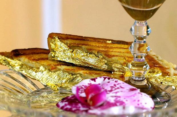 """Giới thượng lưu Dubai """"cuồng"""" vàng đến mức nào? Sẵn sàng vung tiền để ăn món dát vàng, có loại pizza lên đến… 4,8 tỷ/ cái - Ảnh 2."""