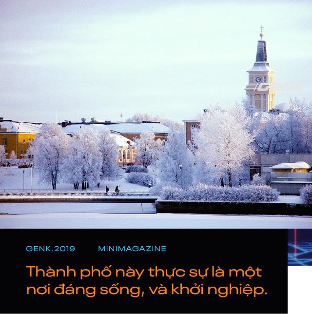 Điều tuyệt vời nhất khi Nokia sụp đổ: Một thị trấn buồn tẻ ở Phần Lan đã trở thành xứ sở thần tiên - Ảnh 12.