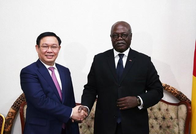 Phó Thủ tướng Vương Đình Huệ hội đàm với Thủ tướng Cameroon Joseph Dion Ngute - Ảnh 1.