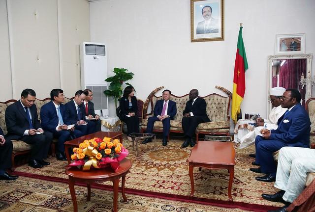 Phó Thủ tướng Vương Đình Huệ hội đàm với Thủ tướng Cameroon Joseph Dion Ngute - Ảnh 2.