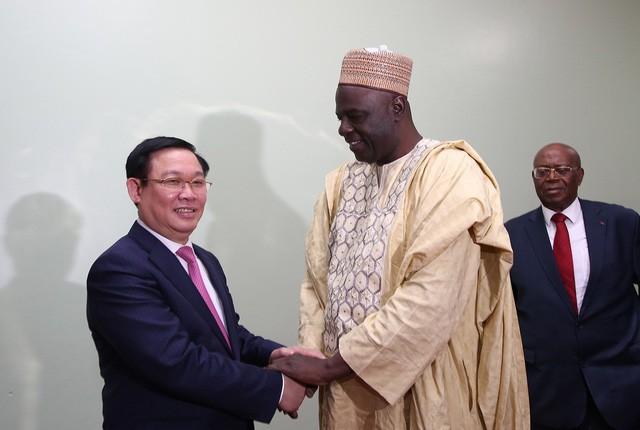 Phó Thủ tướng Vương Đình Huệ hội đàm với Thủ tướng Cameroon Joseph Dion Ngute - Ảnh 3.