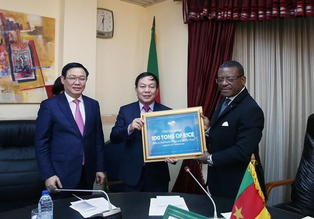 Phó Thủ tướng Vương Đình Huệ hội đàm với Thủ tướng Cameroon Joseph Dion Ngute - Ảnh 5.