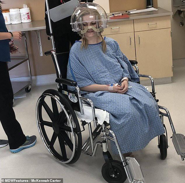 Đau nửa đầu kéo dài tưởng chỉ bị cúm, cô gái trẻ ngã ngửa khi biết mình đã bị ung thư ăn cả vào gan, phổi, xương... - Ảnh 1.