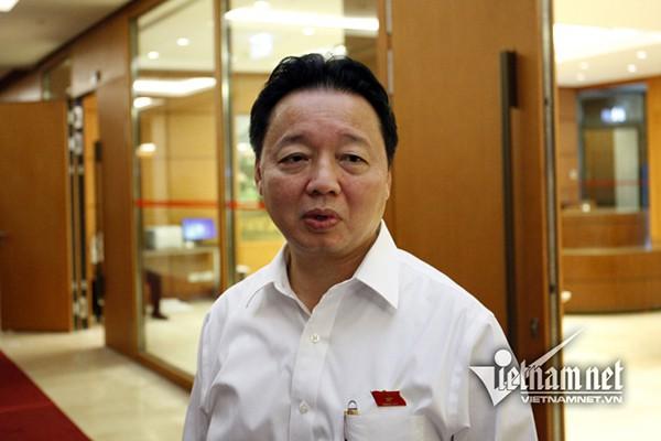 Bộ trưởng Trần Hồng Hà: Ông nào không nên ngồi thì nhường người khác vào - Ảnh 1.