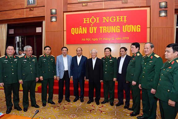 Tổng Bí thư, Chủ tịch nước chủ trì Hội nghị Quân ủy Trung ương - Ảnh 2.