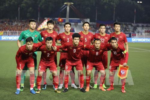Vietcombank tuyên bố thưởng đội U22 Việt Nam gấp đôi mức thưởng đội tuyển nữ nếu vô địch Sea Games 30 - Ảnh 1.