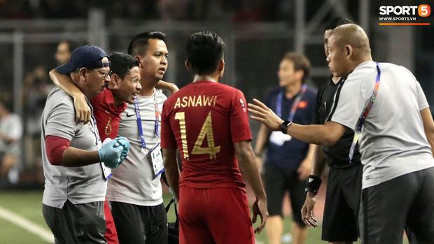 Sao Indonesia phải ngồi xe lăn sau pha va chạm với Văn Hậu: Tôi đã nhận được lời xin lỗi và tha thứ cho cậu ấy - Ảnh 2.