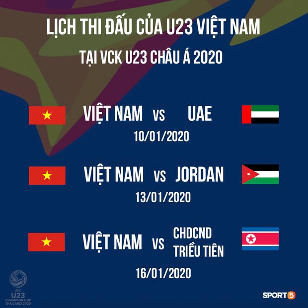 Chính thức: U22 Việt Nam chia tay 1 thủ môn, gọi lại Đình Trọng và Trọng Đại cho chuyến tập huấn tại Hàn Quốc để chuẩn bị cho giải U23 châu Á 2020 - Ảnh 2.