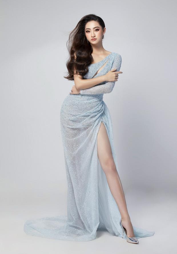 Lương Thùy Linh hé lộ trang phục dạ hội khoe đôi chân cực phẩm 1m22, sẵn sàng cho chung kết Miss World tối nay - Ảnh 3.