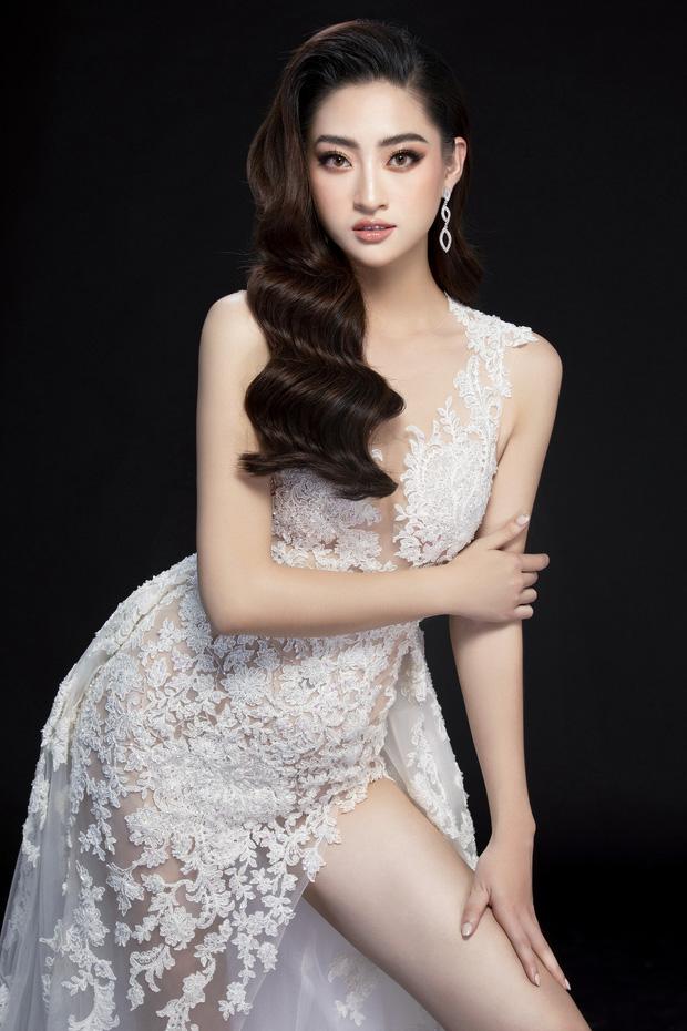 Lương Thùy Linh hé lộ trang phục dạ hội khoe đôi chân cực phẩm 1m22, sẵn sàng cho chung kết Miss World tối nay - Ảnh 6.