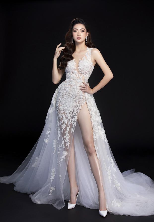 Lương Thùy Linh hé lộ trang phục dạ hội khoe đôi chân cực phẩm 1m22, sẵn sàng cho chung kết Miss World tối nay - Ảnh 7.