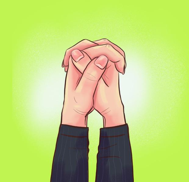 Cách bạn nắm hai bàn tay lại sẽ tiết lộ tính cách, mức độ thông minh, khả năng làm lãnh đạo của bạn, cùng thử nhé! - Ảnh 1.