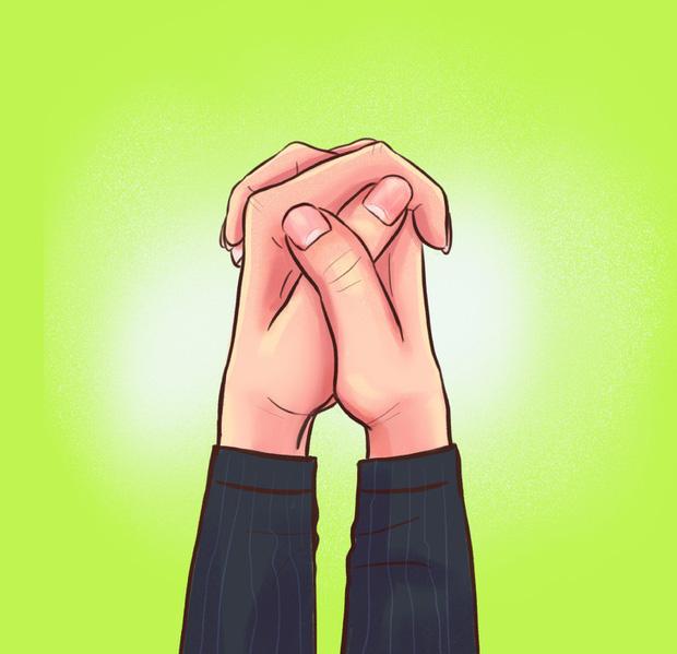 Cách bạn nắm hai bàn tay lại sẽ tiết lộ tính cách, mức độ thông minh, khả năng làm lãnh đạo của bạn, cùng thử nhé! - Ảnh 3.