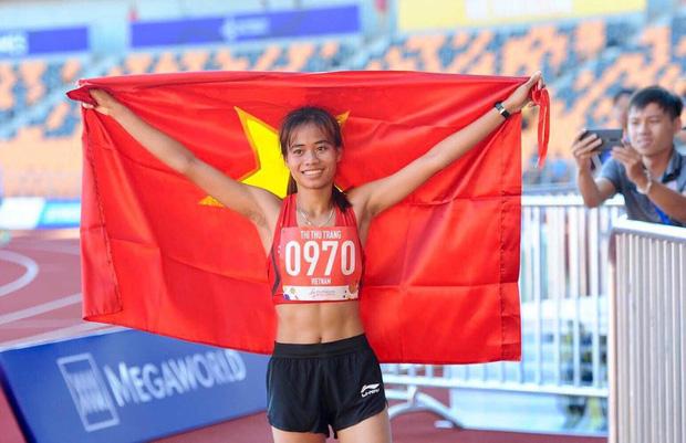 Chuyện một nữ VĐV điền kinh chạy Grab phụ giúp gia đình, giấu bố mẹ sang Philippines tham dự SEA Games rồi giành luôn huy chương vàng - Ảnh 5.