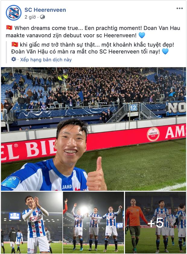 HOT: Sau bao ngày chờ đợi, Đoàn Văn Hậu chính thức đá trận ra mắt ở đội bóng Hà Lan - Ảnh 3.