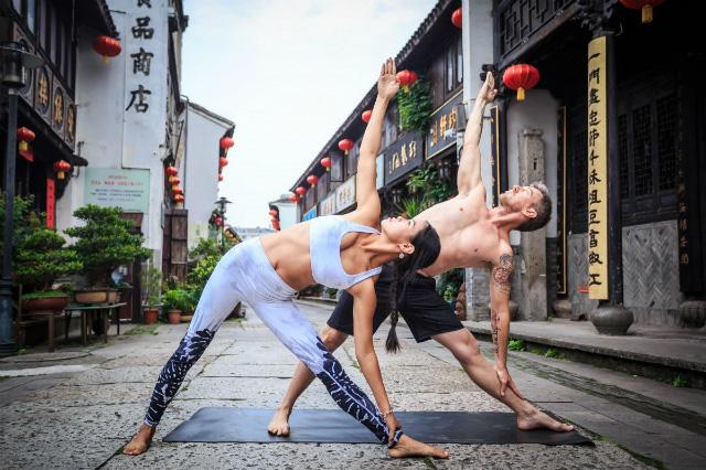 Thị trường yoga gần 7 tỷ USD tại Trung Quốc - Ảnh 1.