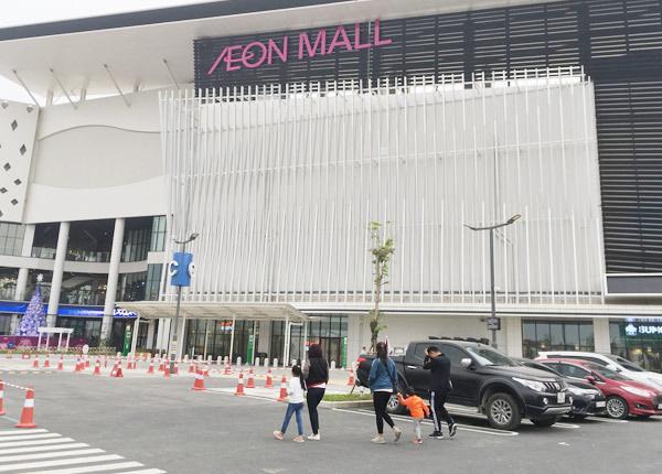 Thất vọng Aeon Mall Hà Đông, khai trương rồi hàng đóng cửa im lìm - Ảnh 1.