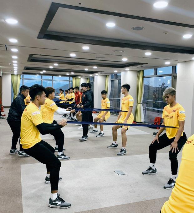 Tin vui từ Hàn Quốc: Quang Hải đã hồi phục chấn thương, tập luyện bình thường cùng U23 Việt Nam - Ảnh 2.