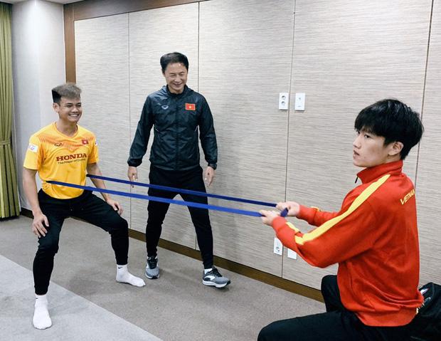 Tin vui từ Hàn Quốc: Quang Hải đã hồi phục chấn thương, tập luyện bình thường cùng U23 Việt Nam - Ảnh 4.