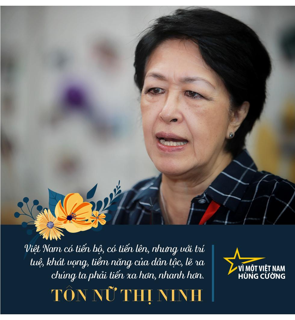 Bà Tôn Nữ Thị Ninh: Muốn Việt Nam hùng cường, không quan trọng bạn là thợ đóng giày hay nhà khoa học…, mà quan trọng phải giỏi, phải lành nghề! - Ảnh 2.