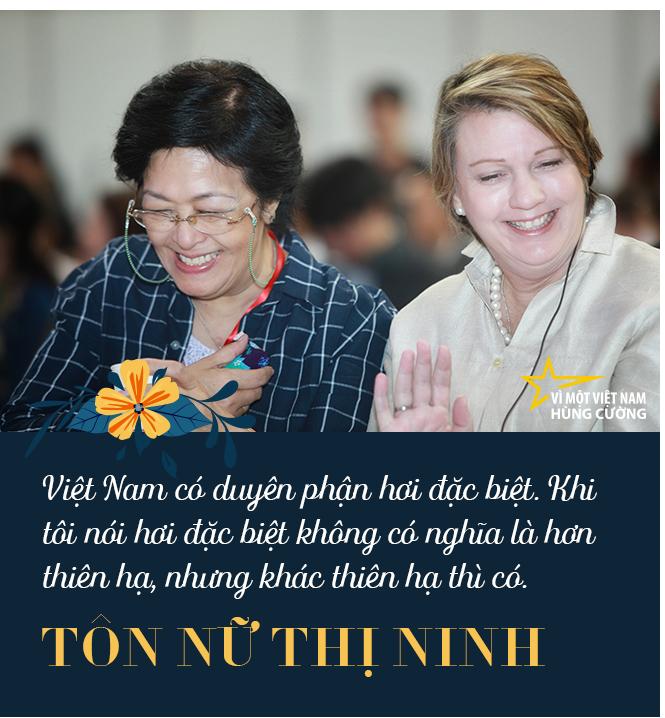 Bà Tôn Nữ Thị Ninh: Muốn Việt Nam hùng cường, không quan trọng bạn là thợ đóng giày hay nhà khoa học…, mà quan trọng phải giỏi, phải lành nghề! - Ảnh 7.
