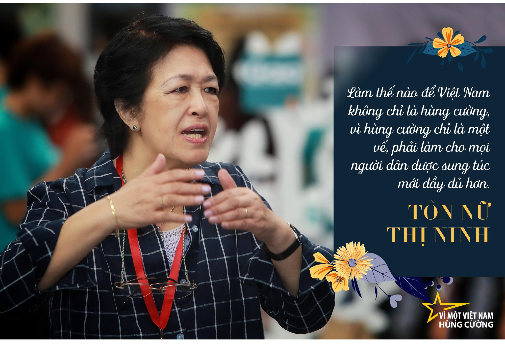 Bà Tôn Nữ Thị Ninh: Muốn Việt Nam hùng cường, không quan trọng bạn là thợ đóng giày hay nhà khoa học…, mà quan trọng phải giỏi, phải lành nghề! - Ảnh 10.