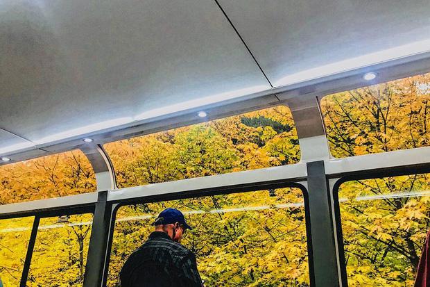 Cận cảnh đoàn tàu view kính 180 độ có thật ở Canada, đi tới đâu là du khách tha hồ ngắm cảnh tuyệt đẹp đến đấy - Ảnh 7.