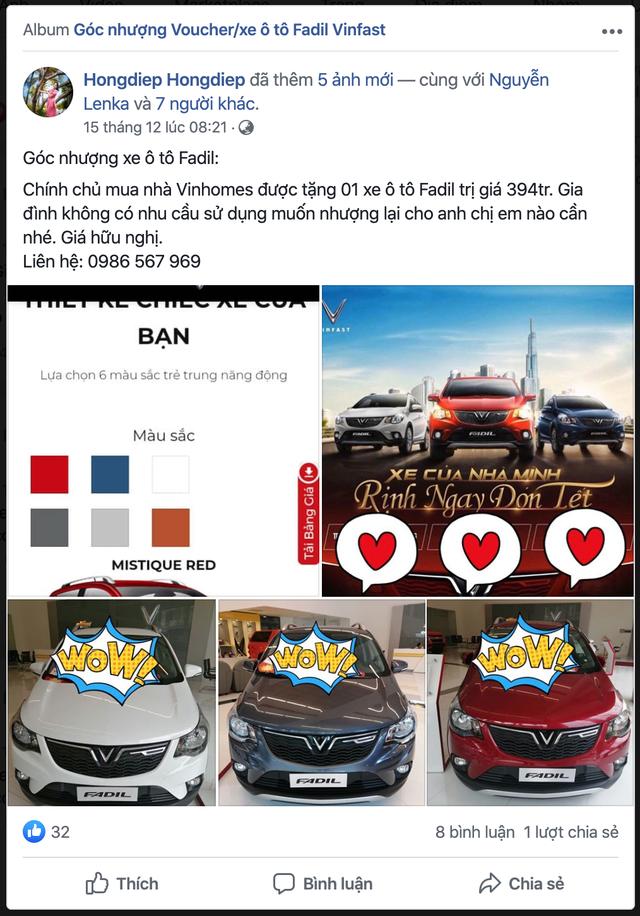 VinFast tặng ô tô cho người mua nhà Vinhomes: Mỗi căn kèm 1 chiếc Fadil, có thể đổi sang Lux với điều kiện này - Ảnh 3.