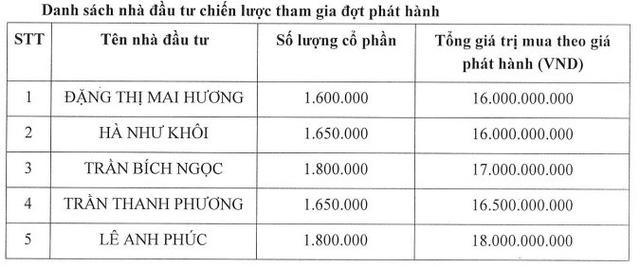 BOT Cầu Thái Hà phát hành riêng lẻ: 3 nhà đầu tư chiến lược bỏ cuộc, dư hơn 5 triệu cổ phiếu - Ảnh 1.