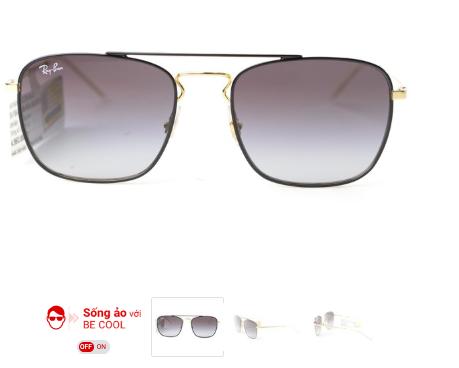 Cũng bán mắt kính và đi sau MWG, FPT Shop gây chú ý với tính năng BeCool – cho phép khách hàng sống ảo thử hàng online - Ảnh 1.