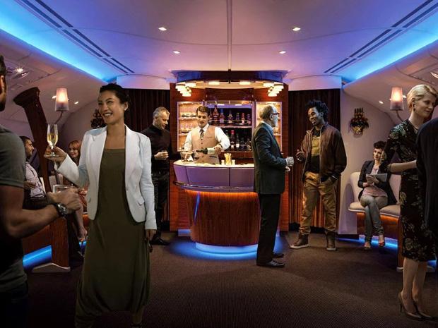 """10 chuyến bay đắt đỏ bậc nhất thế giới chỉ dành cho hội siêu giàu, nhìn ảnh thôi cũng tự thấy mình """"nghèo khổ"""" ghê! - Ảnh 14."""