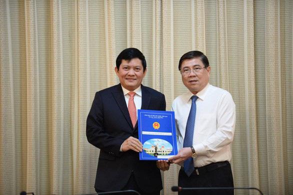 TPHCM bổ nhiệm lãnh đạo công ty Sagri và Tân Thuận - IPC - Ảnh 1.