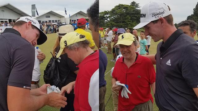 Tiếng hét của khán giả khiến tay golf trẻ tuột mất chức vô địch, phản ứng của anh ấy sau đó là một bài học về trí tuệ cảm xúc - Ảnh 2.