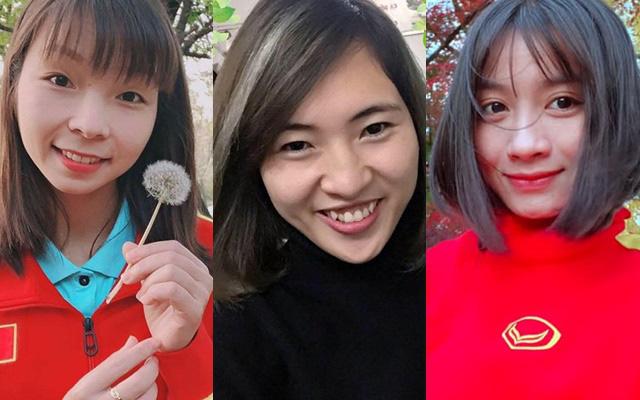 Quyết liệt trên sân cỏ, ai ngờ 3 gương mặt khả ái của đội tuyển bóng đá nữ Việt Nam lại có những hình ảnh ngoài đời mềm mại như thế này - Ảnh 1.